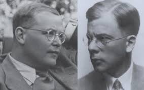 Dietrich Bonhoeffer (L) Hans Dohnanyi (R)