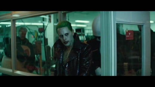 Leto's Joker is completely wasted, reduced to a handful of cameo scenes and little more