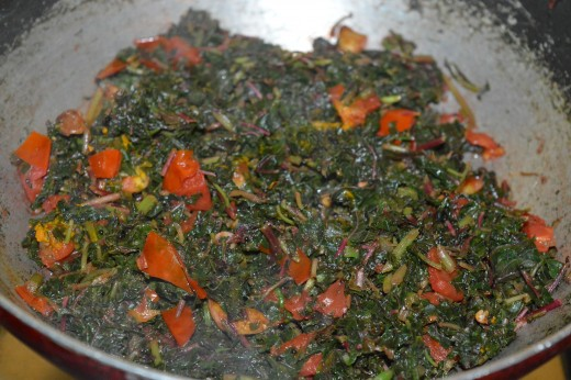 how to cook red amaranth leaves