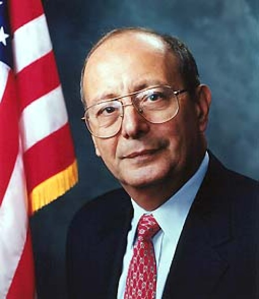 United States Senator Al D'Amato of New York, 1981 to 1999.
