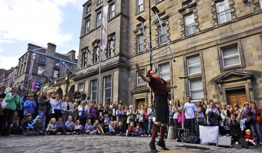 Edinburgh Streets are Buzzing During the Fringe