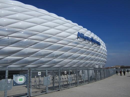 Bayern's home stadium