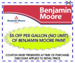 3 Places To Find Benjamin Moore Coupons