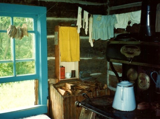 Drying Bread at Old World Wisconsin