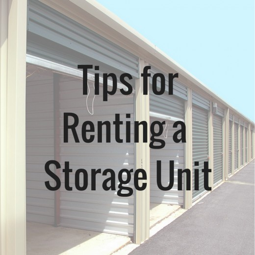 Here are some tips for renting a storage unit to make your experience positive and trouble-free.