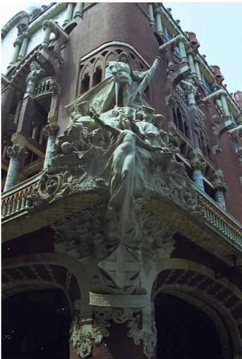 GAUDI art nouveau, architecture, sculpture, painting, decorative arts,