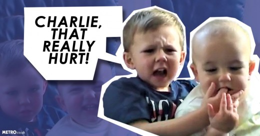 "The viral YouTube video, ""Charlie Bit My Finger""."