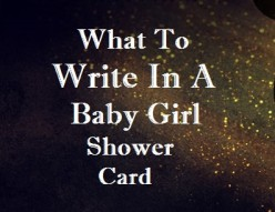 New Baby messages—What to Write in a Baby Girl Card