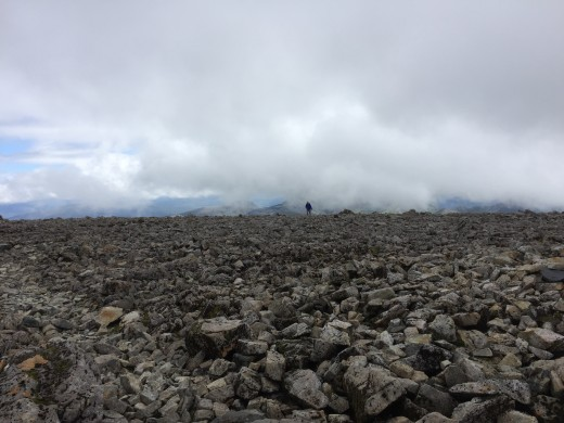 Indeed Ben Nevis truly can be a very very lonely place.