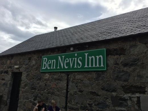 We descended the lower half of Ben Nevis engulfed by the aroma of fresh poured beer. We all must have imagined it as such an aroma doesn't travel that far. Or does it? We are happy in the knowledge that we have earned our sponsorship pledges.