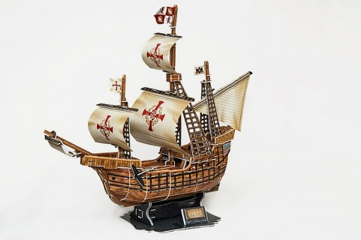 Many 3D puzzles replicate ships, airplanes, cars, space ships and other mobile things. These puzzles are made of paper, plastic, wood, and metal.