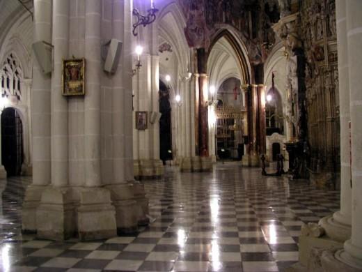 Toledo Cathedral Indoor