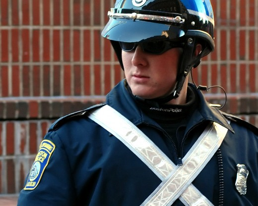 Special operations officer, Boston Police