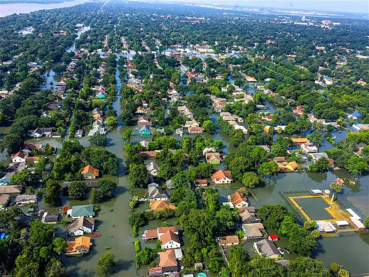 Estimates indicate nearly 200,000 homes were damaged or destroyed, many without flood insurance.