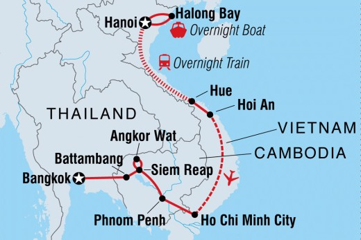 Vietnam faces the South China Sea.