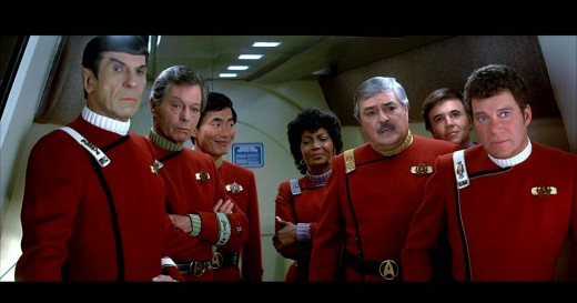 The original crew of the USS Enterprise appeared in six films before finally retiring, bar the odd cameo...