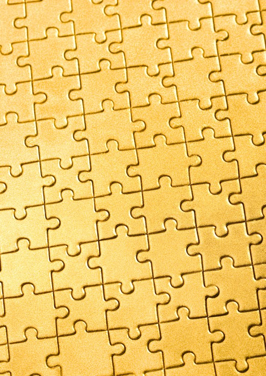 The Holy scriptures are like puzzle pieces; You must have more than one or two to complete your intended life picture.