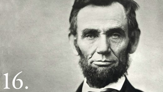 First Republican President.  Issued the Emancipation Proclamation ending slavery.