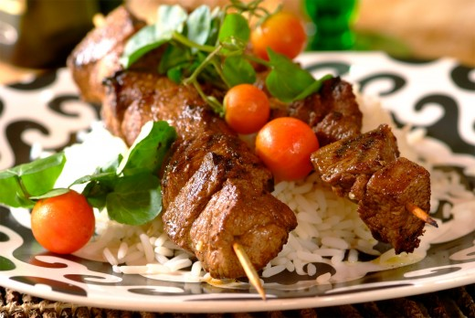 Lamb Shashlik