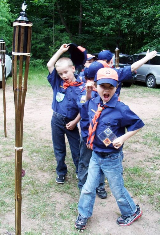 Scout camp provides inspiration for writers.