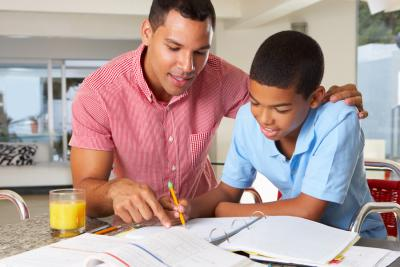 Create a study time that works well for your children.