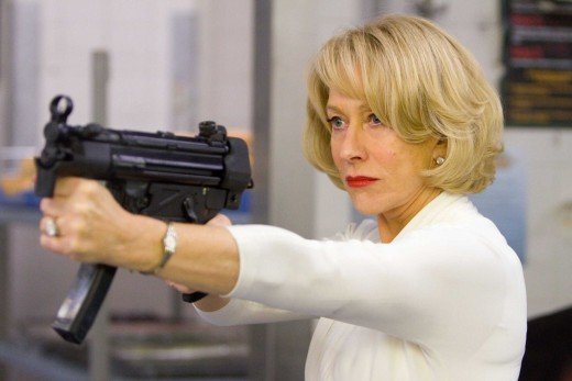 Mirren's performance is the most surprising and the most enjoyable, bar Malkovich