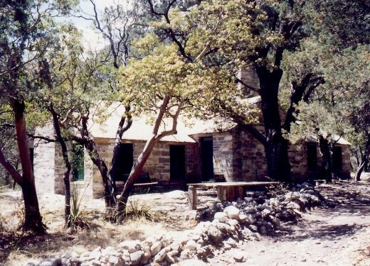 Wallace Pratt's Cabin in McKittrick Canyon / Guadalupe Mountain National Park
