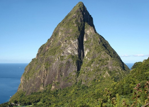 Petit Piton is a popular hiking and photography attraction on St. Lucia.
