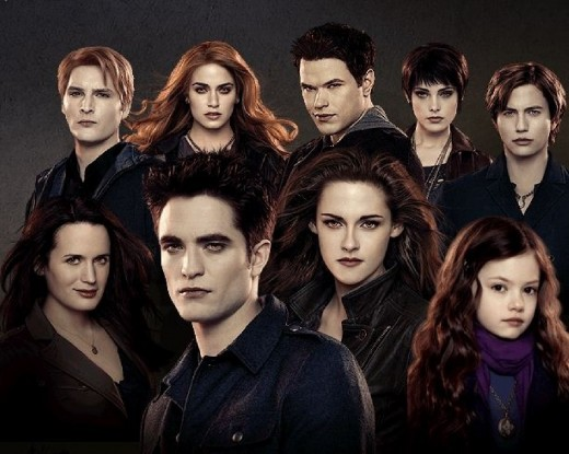 The Cullen Family, as of 2012
