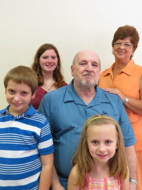 My family. From left, Gabriel, me, wife, Pamela, Alexis, back and Annabeth, front. These are the reasons why I continue to publish materials on HubPages.