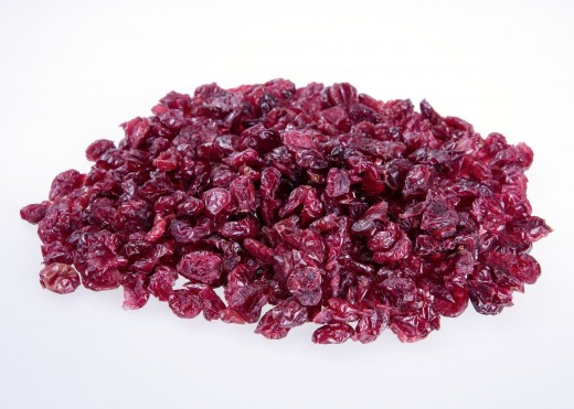 dried cranberries are sweet and packed with nutrients