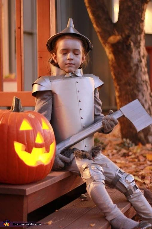 The tin man...who doesn't love this costume?