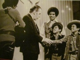 """The """"Jackson Five"""" appeared on the Ed Sullivan Show. They were also regulars on Apollo Theater's stage."""