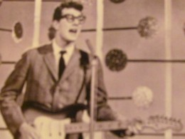 """In 1958 Buddy Holly, appeared. """"When Holly first played the Apollo, audience members (and management) were surprised to discover that he and his group, the Crickets, were white."""""""