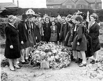 Muriel's grave