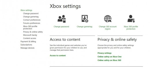 """Click """"Subscriptions"""" beneath Xbox Settings on the left side of the window."""