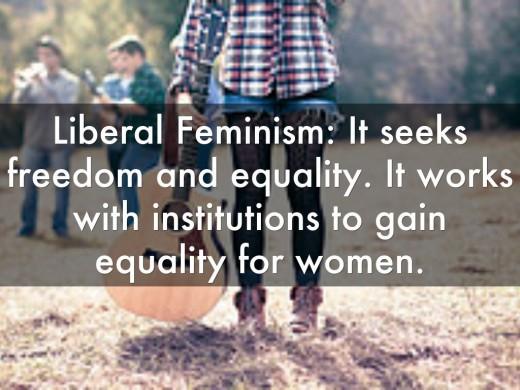 3 Kinds In Feminism!