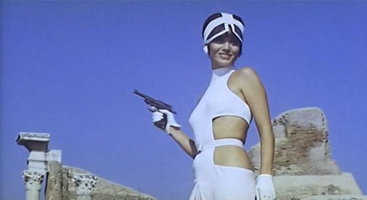 "Elsa Martinelli as Olga in ""The 10th Victim"""