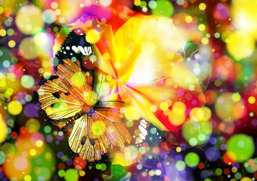 Butterflies are magical in so many ways...the wise people of the past knew this.