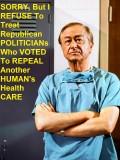 "Should Donald, Barron, Melani AND Republicans Be Subjected 2 The GOP ""HealthCARE Holocaust"" Scheme?"