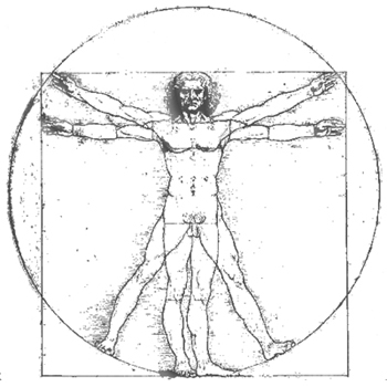 The Virtruvian man