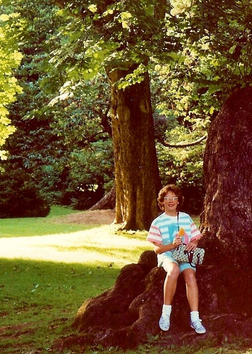 My niece in Stanley Park