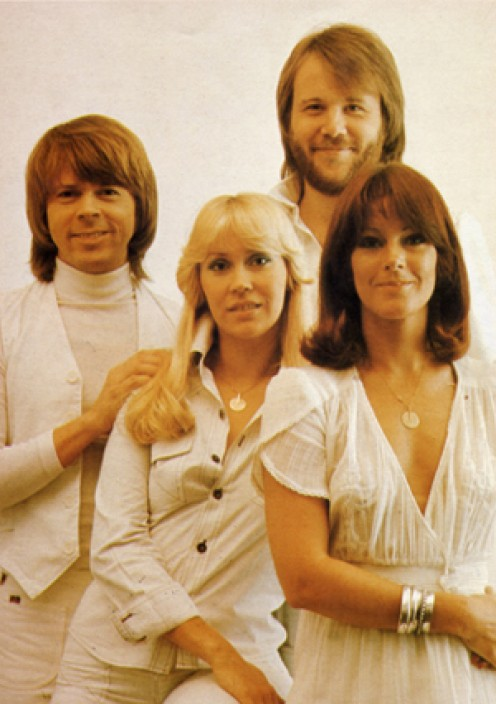The name ABBA is an acronym formed from the first letters of each of the group members given names (Agnetha, Bjorn, Benny, Anni Frid).
