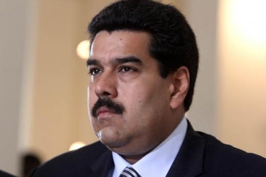 Nicolas Maduro:  IN Trump's sights