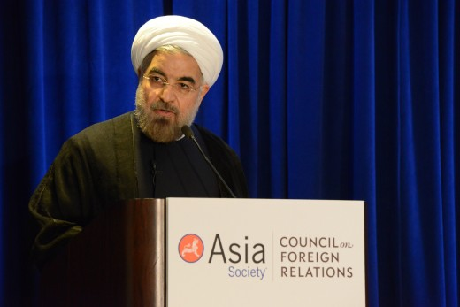 Hassan Rouhani:  in Trump's sights