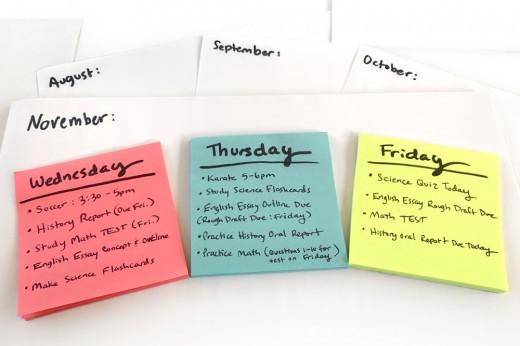 Schedule 3 Weekdays