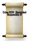 Crime XXXV - Diminished Responsibility IV