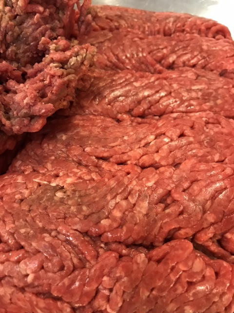 Check the fat content on the ground beef that you use. I almost always buy a 90 or 93 - which simply indicates the percentage of beef to fat. This particular batch was 90, or 90% beef, and 10% fat. You need some fat, otherwise the steaks will be dry.