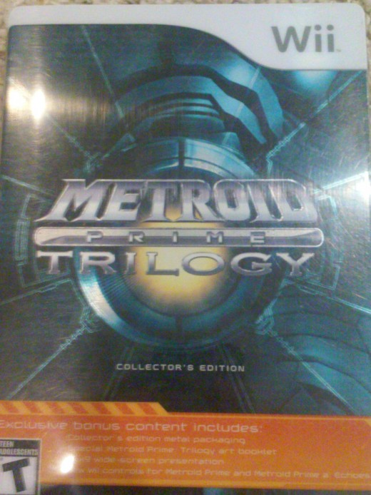 3 Metroid games in 1 shiny box. Best deal ever.
