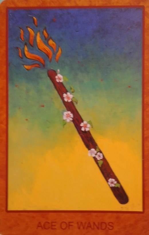 Ace of Wands-Taking on new opportunities and developing faith within oneself
